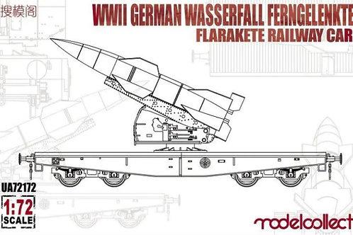 WWII German wasserfall Ferngelenkte railway carrier