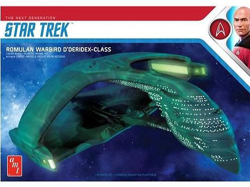 Star trek Romulan warbird D'deridex class
