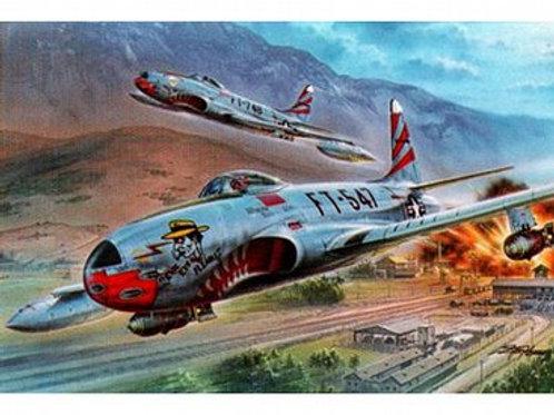 "F-80C ""over Korea"""