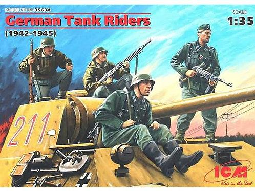 German tank riders 1942-1945