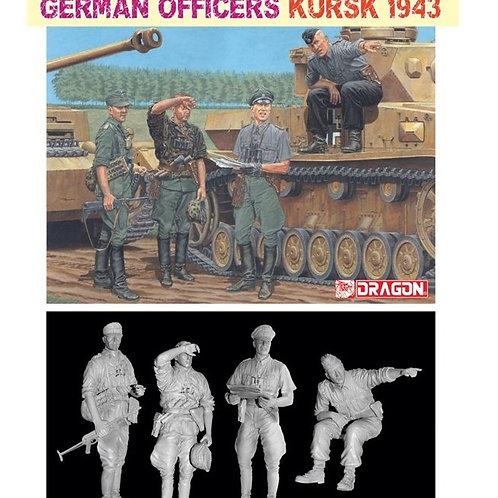 German Officers Kursk 1943