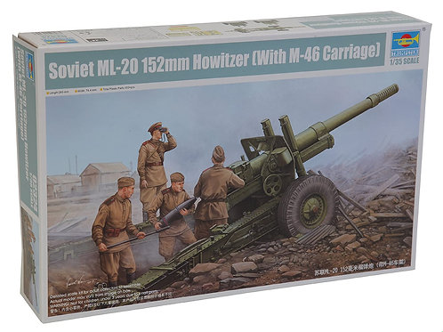 Soviet ML-20 152mm Howitzer with M-46 Cariage