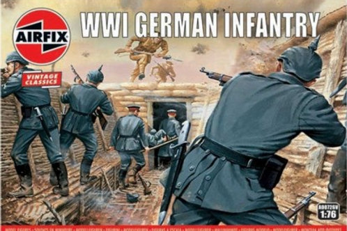 WWI German infantry