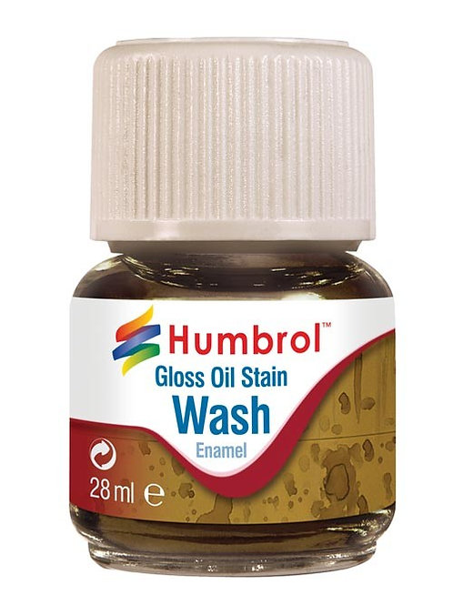 Gloss oil stain wash - Enamel 28ml