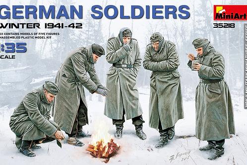 German soldiers winter 1941-1942