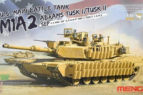 U.S Main battle tank M1A2 Abrams Tusk