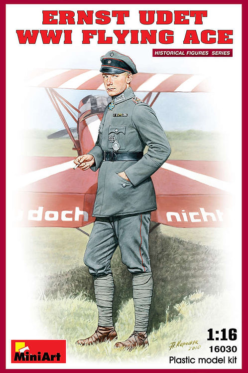 Ernst Udet. WW1 Flying ace