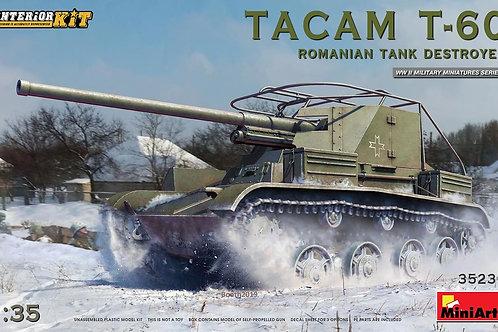 Tacam T-60 Romanian tank destroyer - interior kit