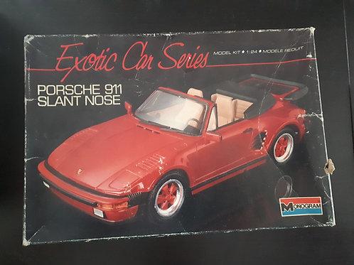 Porsche 911 slant nose - exotic car series