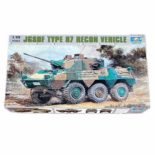 JGSDF Type 87 recon vehicle