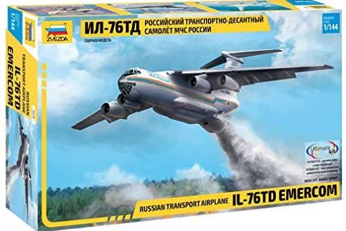 Russian transport airplane IL-76TD