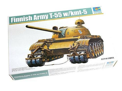 Finnish army T-55 w/kmt-5