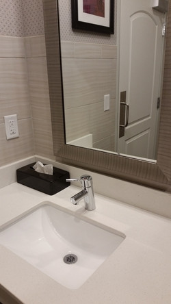 Vanity Top with Splashes