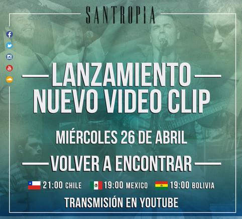 """LANZAMIENTO VIDEO CLIP """"VOLVER A ENCONTRAR"""""""