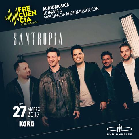 SANTROPIA en Frecuencia Audiomusica