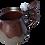 Thumbnail: Apophyllite Mug in Copper 16oz