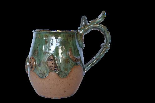 Labradorite Dark Moon Mug in Sea Moss