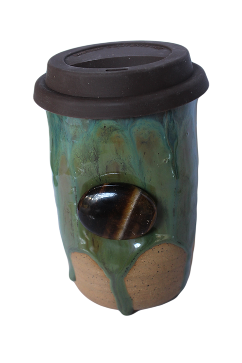 Travel Mug in Sea Moss 16oz