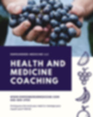 health and medicine coaching NUTRITION h