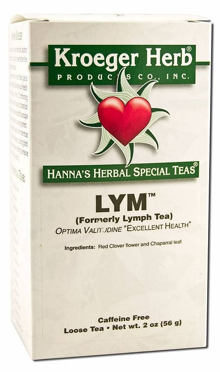 Kroeger Herb LYM Tea (Formerly Lymph Tea) 2 oz