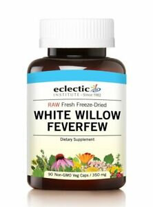 White Willow Feverfew 90 Capsules