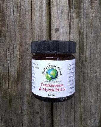 Frankincense & Myrrh Salve 1.75 oz