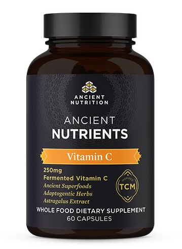 Vitamin C 60 Capsules Fermented