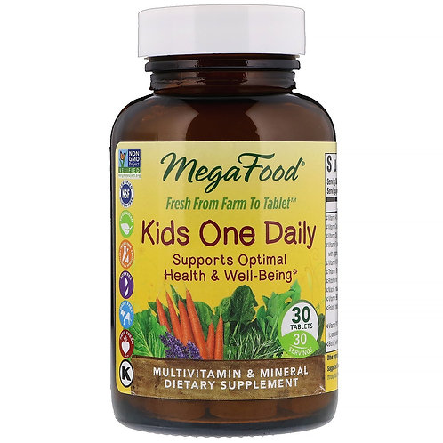 MegaFood Kid's One Daily 30 Tablets