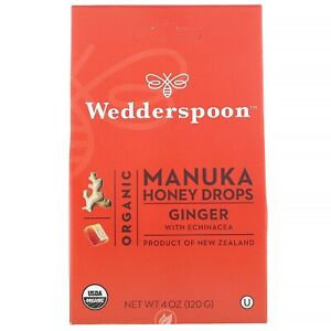 Manuka Honey Drops Ginger
