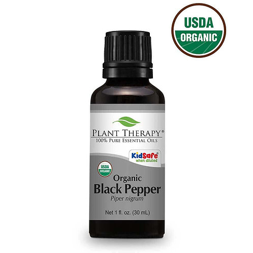 Organic Black Pepper Essential Oil 1 fl. oz.