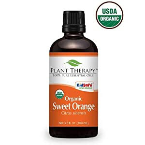 Organic Sweet Orange Essential Oil 30 mL