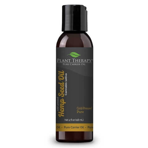 Hemp Seed Oil 4 fl oz Cold Pressed