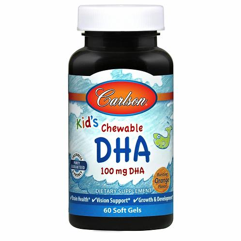 Carlson Kid's Chewable DHA 100mg