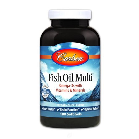 Fish Oil Multi 60 Soft Gels