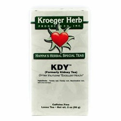 Kroeger Herb KDY Tea (Formerly Kidney Tea) 2oz