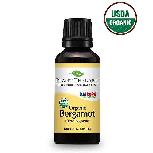 Organic Bergamot Essential Oil 1 fl. oz.