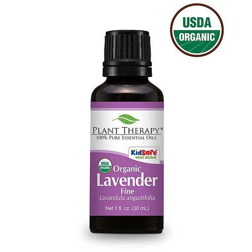 Organic Lavender Fine Essential Oil 1 fl. oz.