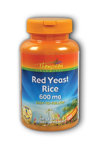 Red Yeast Rice 600 mg capsules