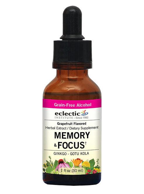 Memory & Focus Herbal Extract  1 fl oz