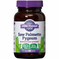 Saw Palmetto Pygeum 90 Capsules