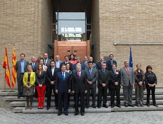El CC de Aragón celebra el 9 de Mayo, Día de Europa