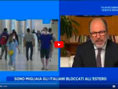 CORONAVIRUS: L'UNITÀ DI CRISI DELLA FARNESINA PER GLI ITALIANI ALL'ESTERO