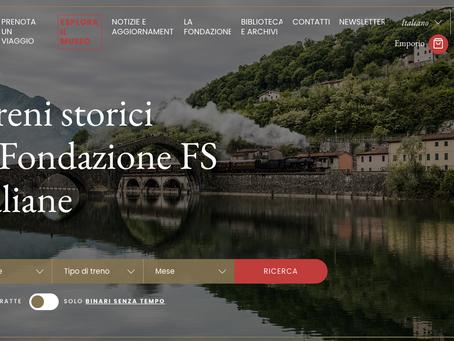 LOS TRENES HISTÓRICOS DE LA FUNDACIÓN DE LOS FERROCARRILES ITALIANO