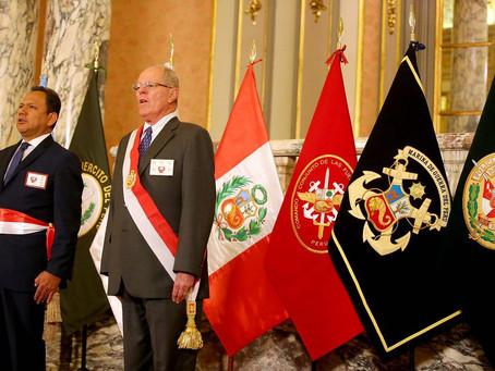 PERÚ: EL PRESIDENTE ES RECONOCIDO COMO JEFE SUPREMO DE LAS FUERZAS ARMADAS Y LA POLICÍA