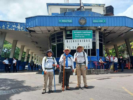 EL SALVADOR: PRIEST WALKS 1,200 KILOMETERS TO RAISE FUNDS FOR SCHOOL