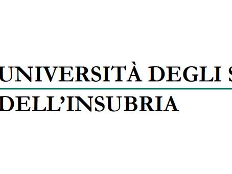 EXCELENTE OPORTUNIDAD PARA ESTUDIAR EN ITALIA EN COMO O VARESE. 10 BECAS DE ESTUDIOS DE 10.000 EUROS