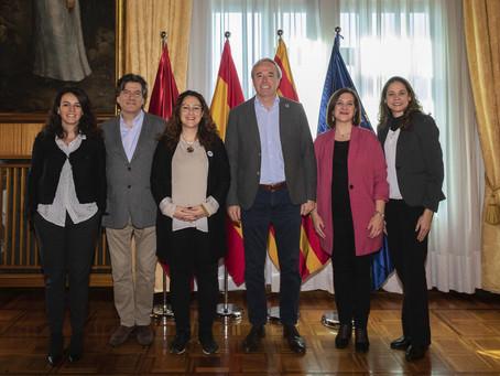 VISITA DE LA SECRETARÍA GENERAL DE CENTRO IBEROAMERICANO DE DESARROLLO ESTRATÉGICO URBANO (CIDEU)