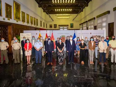 EL CÓNSUL DE FRANCIA EN ARAGÓN, RAFAEL LEDESMA, CONMEMORA LA BATALLA DE LAS HERAS DE LOS SITIOS