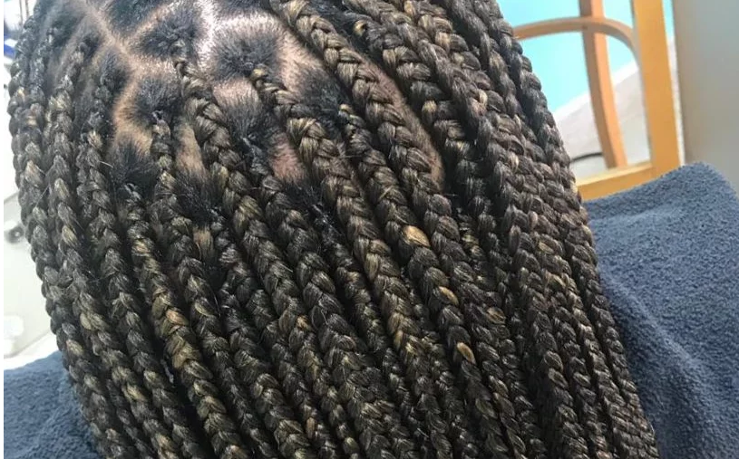 knotless box braids