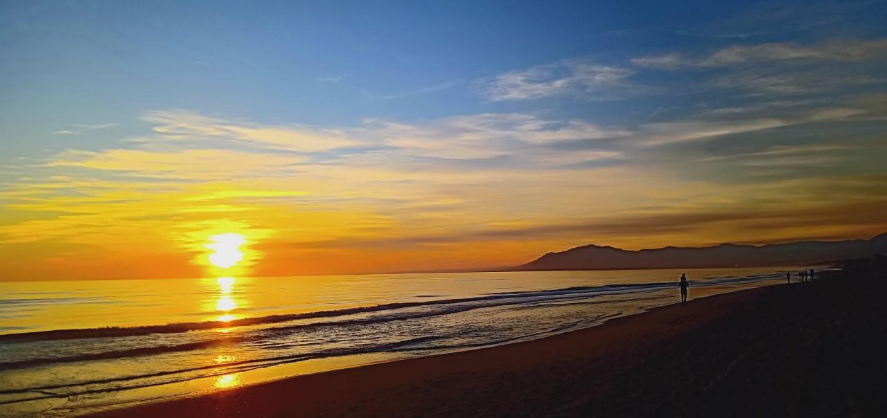 zonsondergang Beach House